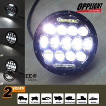 7in Round Universal type Headlamp Conversion with Hi/lo beam