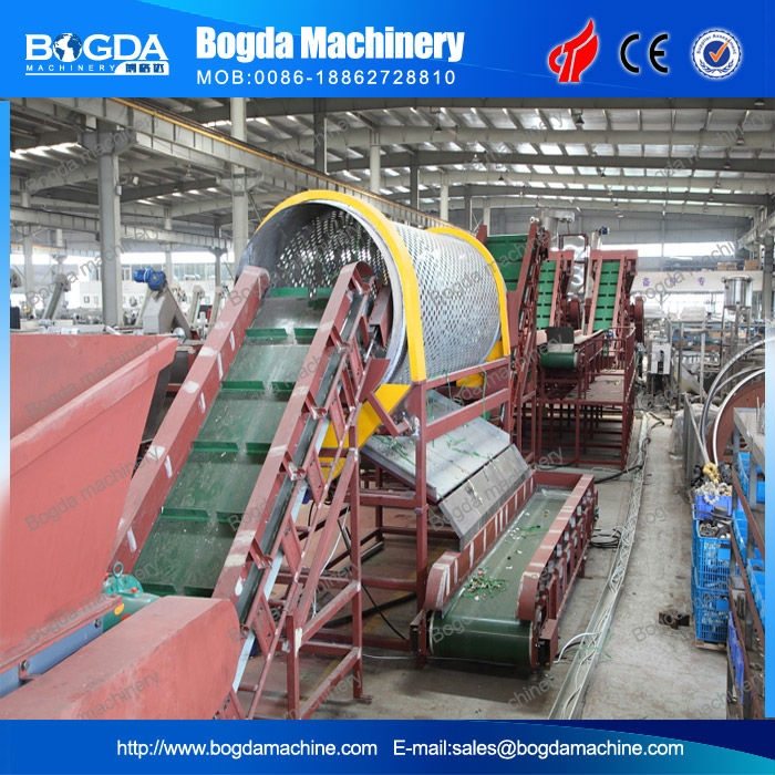 PET recycling machine for waste PET bottles