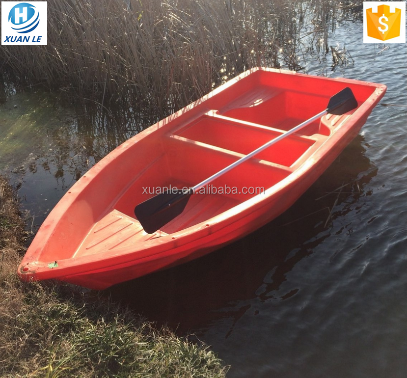 Rotomolded 3.6m river rowing hard plastic <strong>boat</strong> for sale