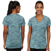 quick dry V-neck Short sleeve Gym Clothes for Woman fashion cheap bulk buy running wholesale sports clothing