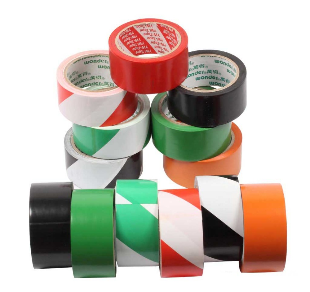 Custom adhesive side underground detectable warning tape