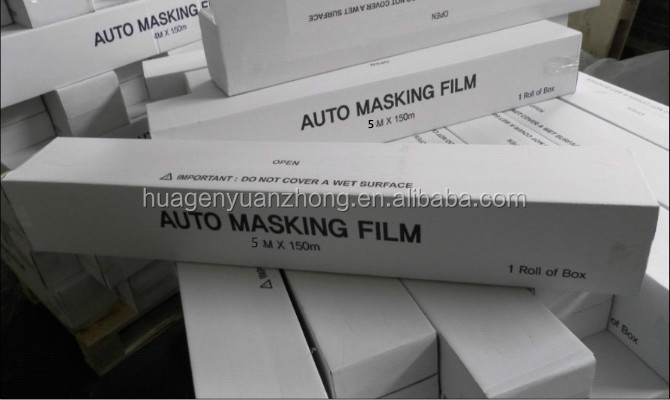 Car Painting Prefolded Masking Film