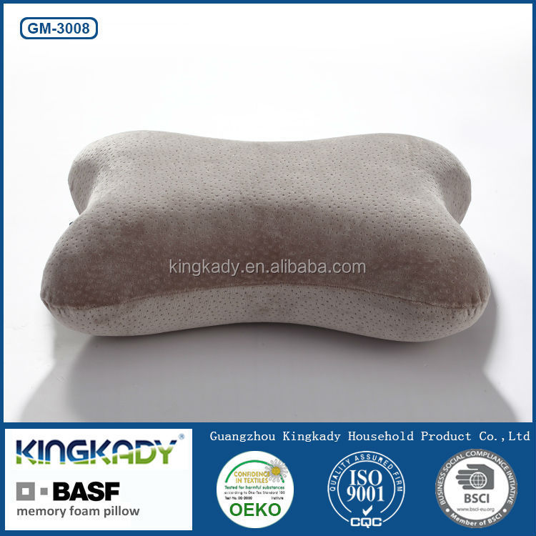 Custom cover memory foam outdoor/indoor decorative back cushion for office chair
