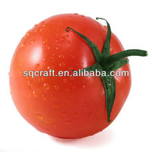 Plastic tomatoes model for decoration/ Fake fruits for dispaly / Artificial food manufacturer in Yiwu