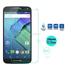2016HD tempered glass For Motorola Moto X Style