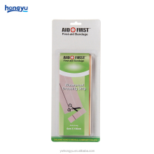 A custom clipped long strip band aid Adhesive Bandages wound plaster