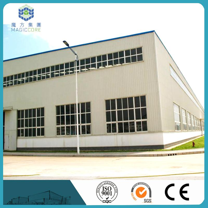 Good Sale High Quality Prefab Structural Steel frame house prefab Workshop/Warehouse