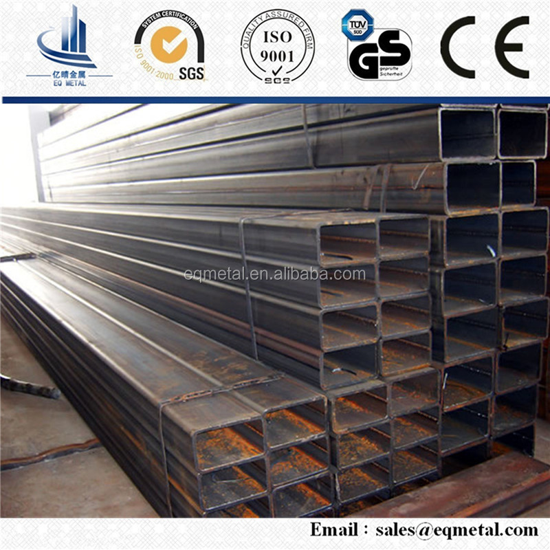 China Carbon Iron Steel Square tupe S235JR Square Pipe