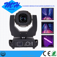 china sharpy 280W 10r beam spot 3in1 moving head light outdoor stage lighting