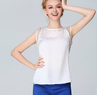 2014 NEW FASHION SOLID COLOR SEXY WOMEN'S CHIFFON BLOUSE