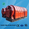 Top quality waste tyre pyrolysis machine with high output