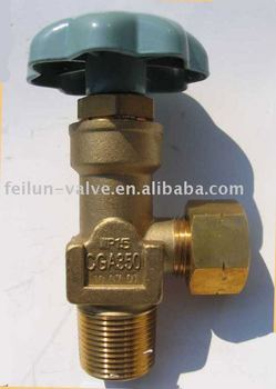 CGA350 Valve For Carbon Dioxide Cylinder