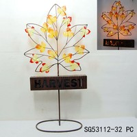 artificial led maple tree light for harvest decoration