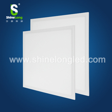High brightness aluminum ultra thin square led panel light with day night light sensor