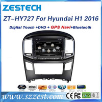 2016 hot selling 7 inch in-dash car accessories for Hyundai H1/Starex 2016 car spare parts with autoradio GPS DVD USB/SD Mp3 Mp4