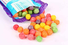 full color print dei cut handle & drawstring handle food grade candy packing plastic goody candy bag