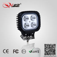 High output bright LED Square Led working light 40W led work lights for truck