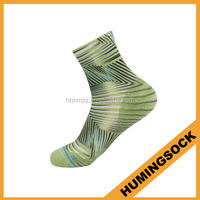 Dri Fit Ankle Top Photo Printed Colorful Athletic Socks