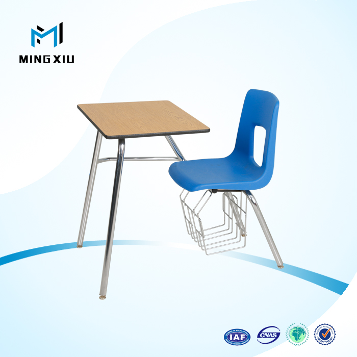 China supplier low price modern school desk and chair / university desks and chairs
