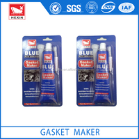 red blue black grey rtv silicone gasket maker for auto