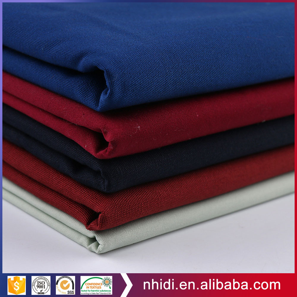special offer 7S plain weave canvas fabric 100% cotton textile dyed