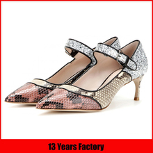 crocodile shoes women/old fashion shoes/sro shoes
