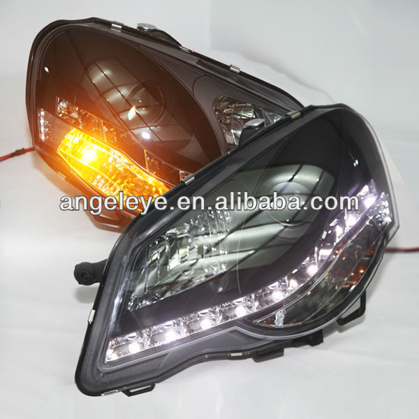 For VW Polo LED Head Lamp Angel Eyes 2005 to 2008 year
