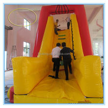 Fwulong high quality PVC 0.55mm inflatable bouncy castle/inflatable water slide clearance