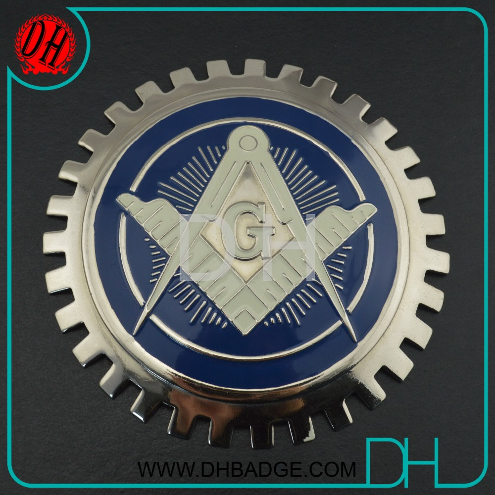 Factory Make Your Own 3D Custom Metal Car Emblem