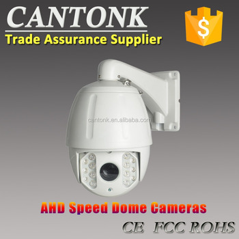 "KHA-AH10XD13 1/3"" Aptina CMOS Sensor ICR, 3DNR, 18X, Medium AHD Speed IR Dome Camera"