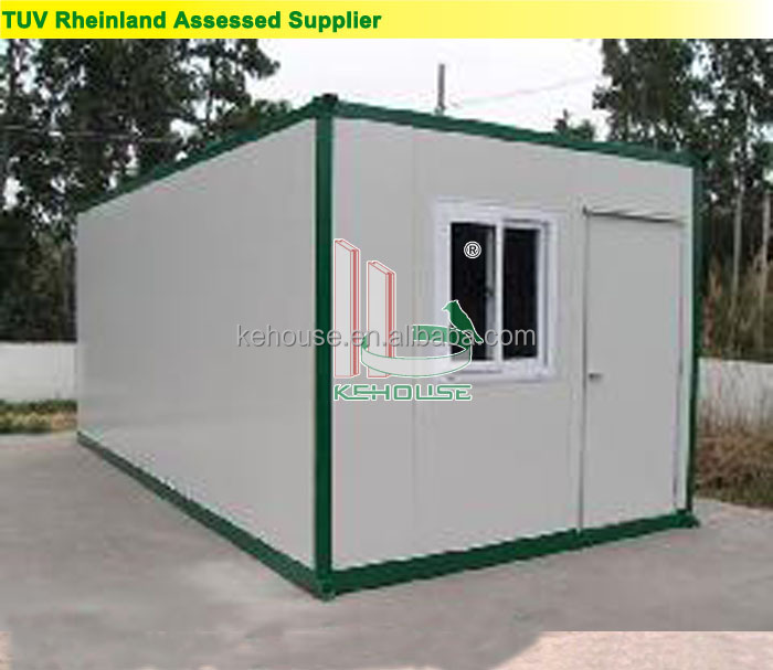 Flexible And Security Mobile Light Steel Prefab Container House for sales
