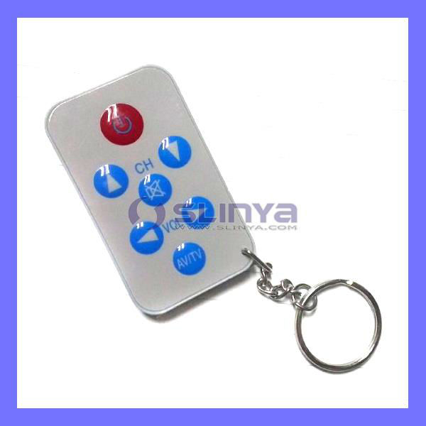 Popular Universal TV Remote Controller With Key Chain