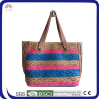 Hot Selling Straw Bag Tote Bag For Walkers