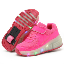2017 latest design rubber shoes ,fashion kids led light up skate shoes with 7 colorful led light