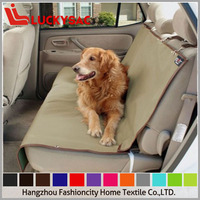 Premium waterproof material,adjustable straps,protect pet car seat cover