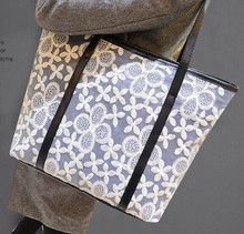 Hot Selling Products China Wholesale New Fashion Floral handbags for ladies 2014