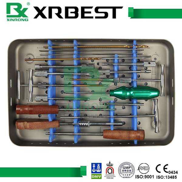 Large Fragment Dynamics Compression Plates Medical orthopedic Instrument Set surgical instrument set