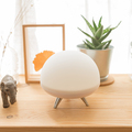 led atmosphere bedside marble table lamp