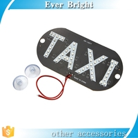Automobile accessory led light soft fiber led taxi dome light auto car taxi light