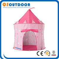 Glow in dark Cute Princess castle Children Girl castle Kids Play Tent