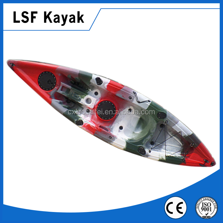 Single Rotomolding Recreation Fishing Boat/Kayak/ Canoe for salle