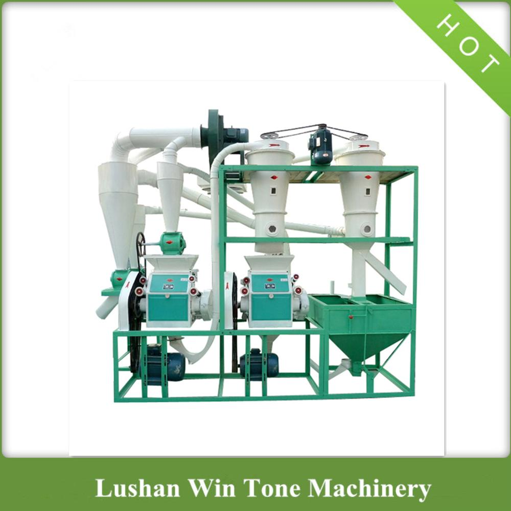 Wheat Flour Mill Wheat Flour Grinding Machine Flour Mill Machine