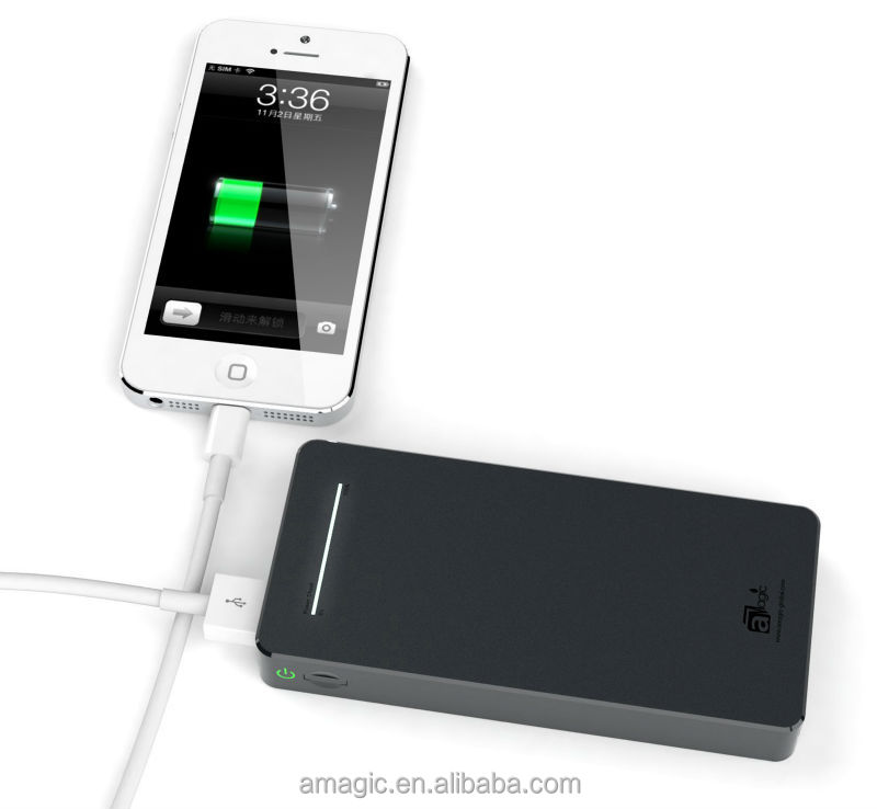Dual USB Output Battery Charger 13000mAh, for mobiles of Nokia, Sony, Xiaomi, Huawei, HTC, Etc...
