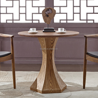 Wholesale round wooden tea table design,wooden dining table antique european style