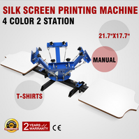 4 Color Silk Screen Printing Machine