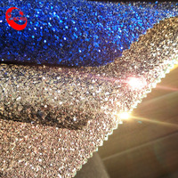 Hot Selling Shiny 3D Effect Glitter Fabric Wallpaper