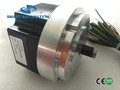 Size 86mm Brushless DC Motor with IEC Flange, for NMRV Worm Gearbox Assembly