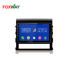 Android car stereo for Toyota Land Cruiser with headrest monitor