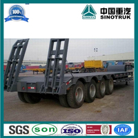 3 Axles 4 Axles Low Bed