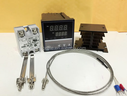 Dual Digital PID F/C Temperature Controller Control CD101 FK02-V*AN-NN+1M thermocouple K SSR output